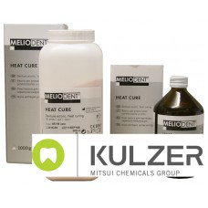 Kulzer Meliodent Heatcure PINK H5 #65 Powder & Liquid Combo Packs - 1kg - 3kg - 6kg or 10kg