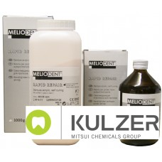 Kulzer Meliodent Rapid Repair Powder & Liquid - 1kg - 3kg - 5kg or 8kg