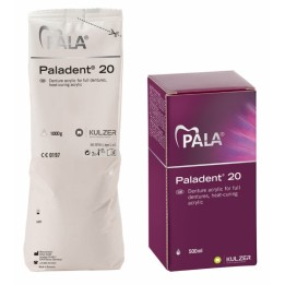 Kulzer Paladent 20 Powder & Liquid COMBO PACKS - 1kg - 3kg - 6kg or 10kg