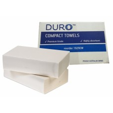 Caprice Duro Premium COMPACT Interleaved Towel - 90 Sheets - 29 x 19cm Wide - 24/Ctn (1929CW)