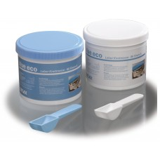 Detax Blue ECO Putty 86 Shore A - 1.6KG (2 x 800g)