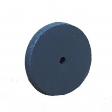 Superior Rubber Polishers - Wheels - Blue - 220 Grit - 22.2 x 3.2mm - 100 (1900810)