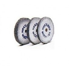 Mizzy Heatless Wheels No.5 White - Pack of 50