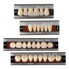 Kulzer Basic 6/8 Acrylic Teeth (3 Layer) – 1 Set