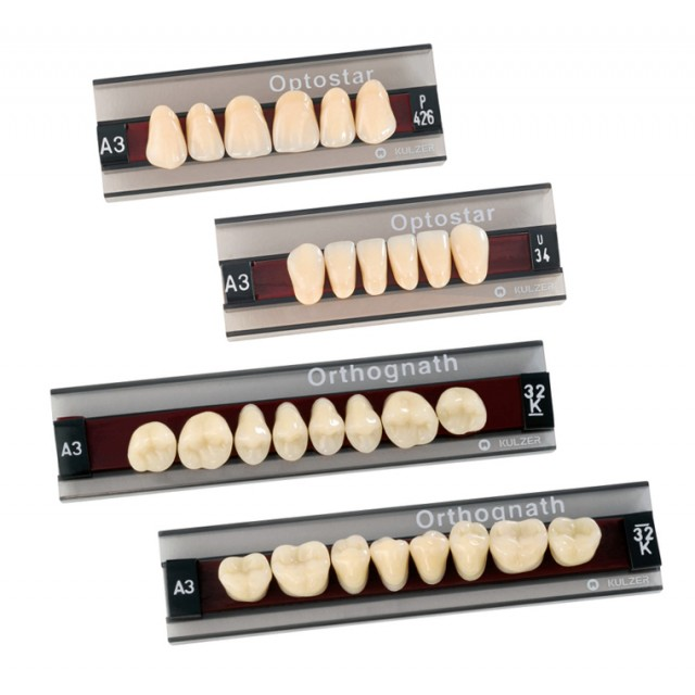 Kulzer Classic Range - 3 & 4 Layer Acrylic Teeth
