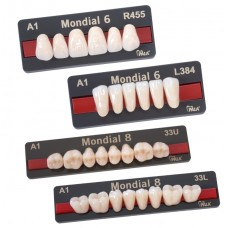 Kulzer Pala MONDIAL 6/8 NanoPearl Acrylic Teeth – 1 Set