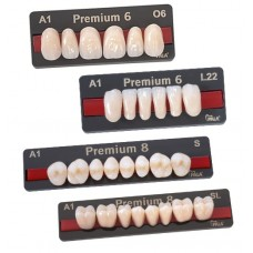 Kulzer Pala PREMIUM 6/8 NanoPearl Acrylic Teeth – 1 Set